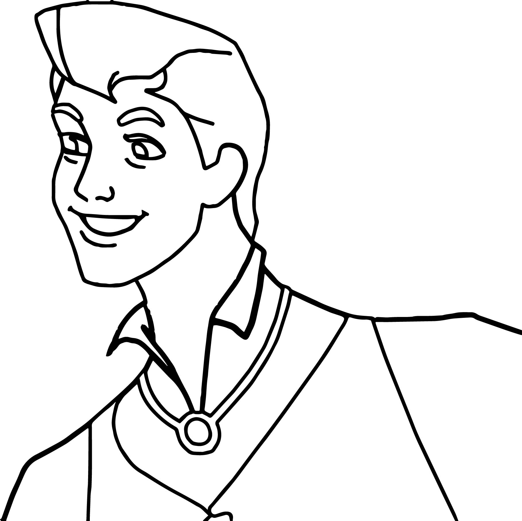Prince Phillip And Samson Man Coloring Pages | Wecoloringpage.com