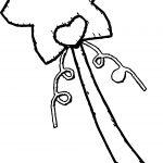 Princess Wand Coloring Page