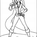 Rapunzel Flynn Rider Clothing Coloring Page