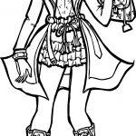 Rapunzel Woman Modern Girl Coloring Page