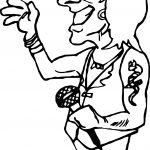 Rock Star Guitar Free Images Coloring Page