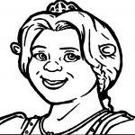 Shrek Girl Coloring Page