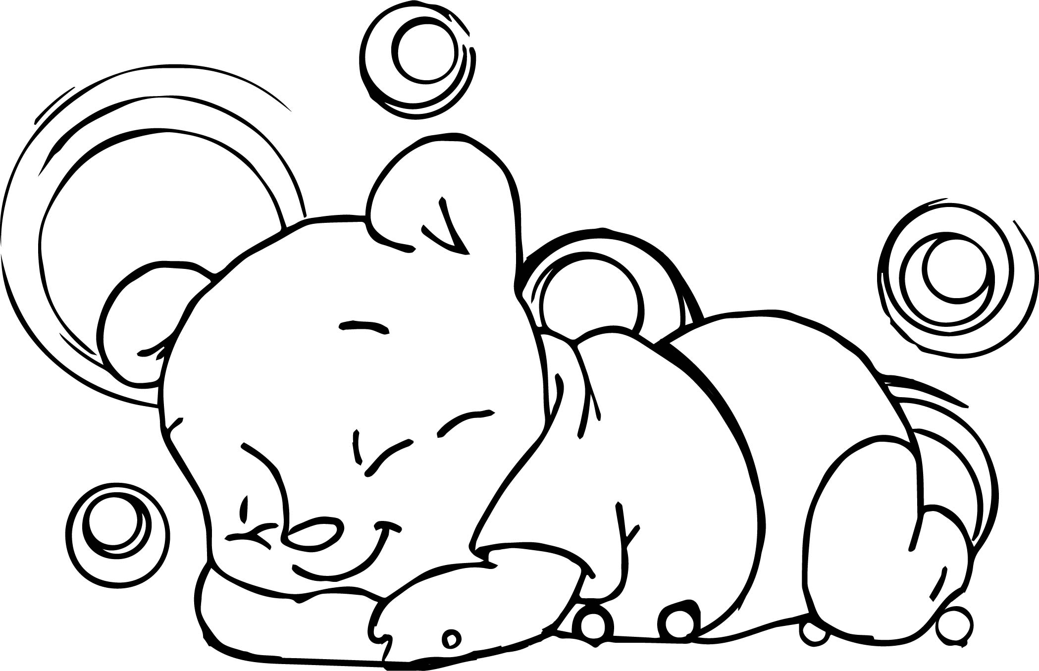 coloring pages sleeping baby pig coloring page free printable