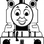 Smile Train Coloring Page