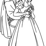 Snow White And The Prince Bird Coloring Page