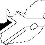 South Africa Map Coloring Page