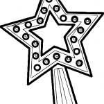 Stars Magic Coloring Page