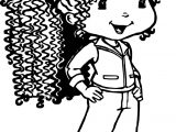 Strawberry Shortcake Girl Coloring Page