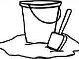 Summer Buckets Coloring Page
