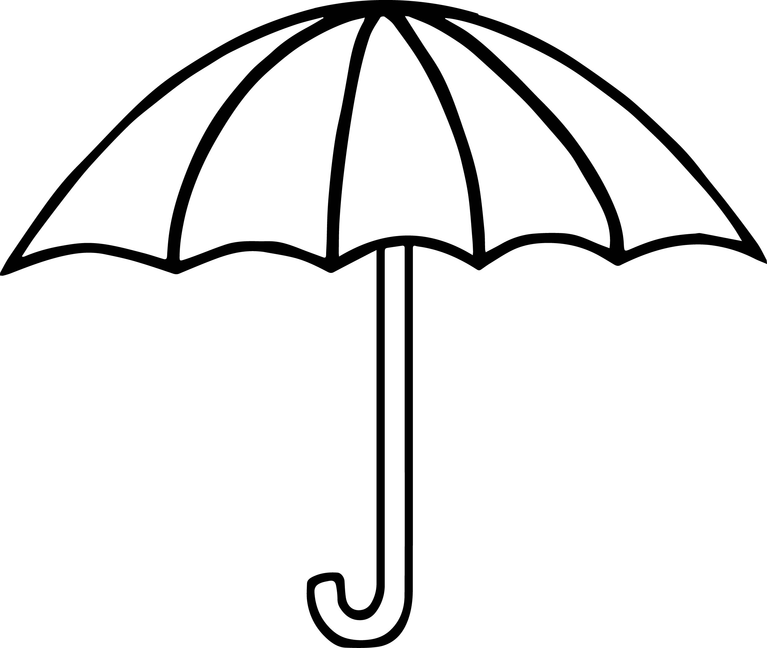 94 Coloring Pages Of Umbrella Bird