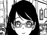 Supernoobs Girl Manga Coloring Page