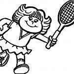 Tags Tennis Players Balls And Rackets Coloring Page