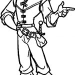 Tangled Flynn Alright Coloring Page