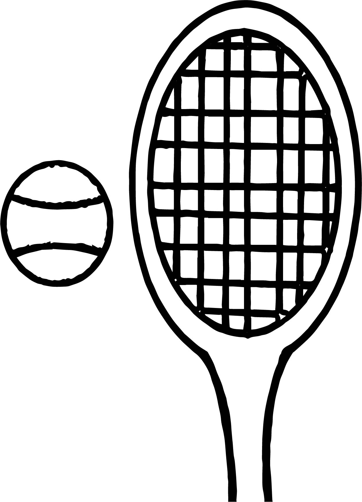 Tennis Crab Free Coloring Page Images