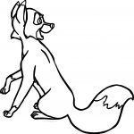 The Fox And The Hound Vixey Fox Coloring Page