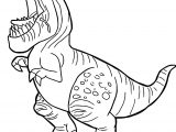 The Good Dinosaur Disney Butch Yell Cartoon Coloring Pages