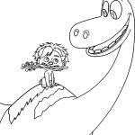 The Good Dinosaur Disney Good Dinosaur Cartoon Coloring Pages