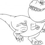 The Good Dinosaur Disney Nash Cartoon Coloring Pages