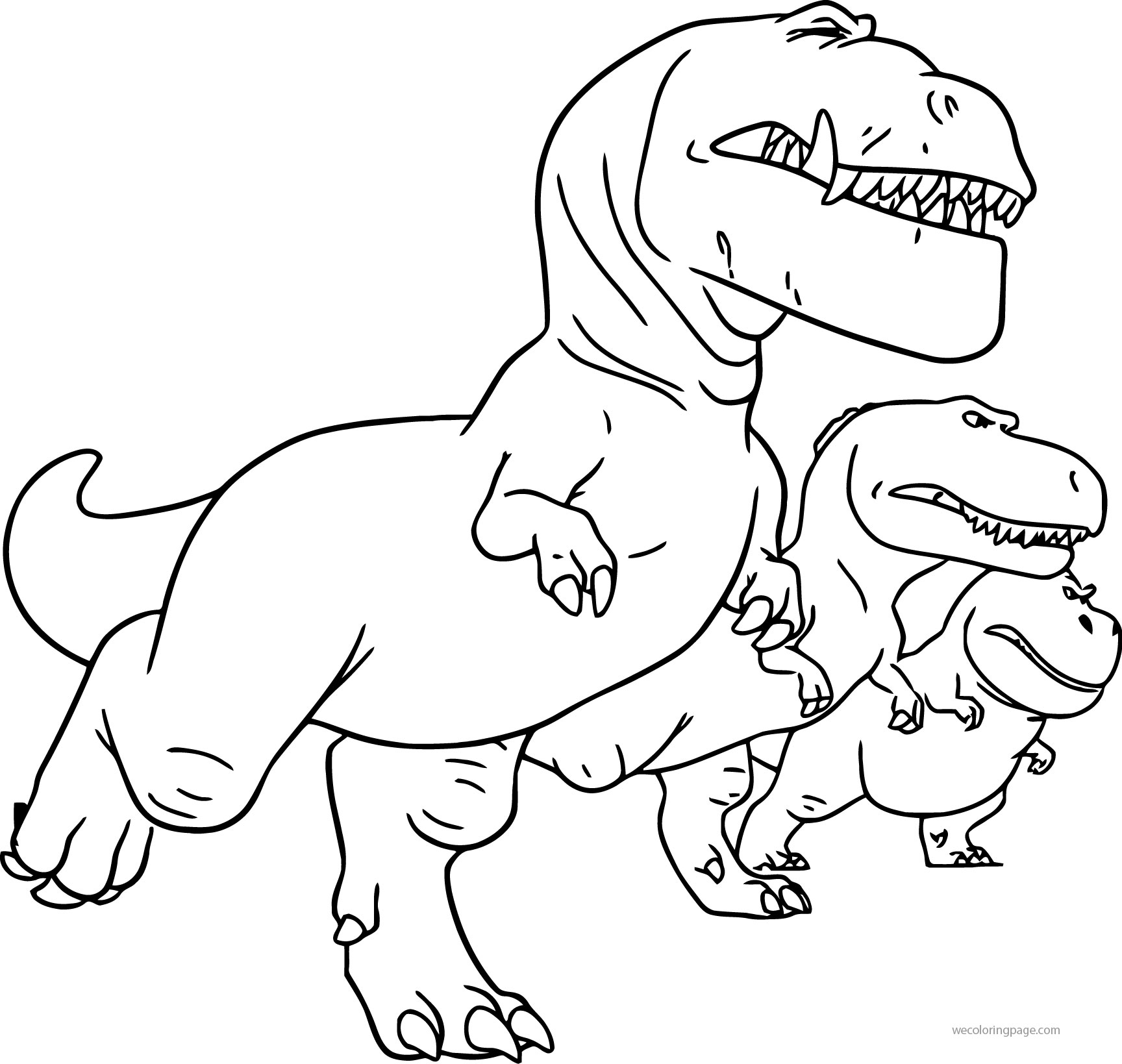 The Good Dinosaur Disney Nash Ramsey Butch Attack Cartoon Coloring Pages