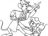The Great Mouse Detective Basil Olivia Great Mouse Cartoon Coloring Pages