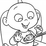The Incredibles Baby Boss Coloring Pages