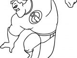 The Incredibles Full Power Coloring Pages