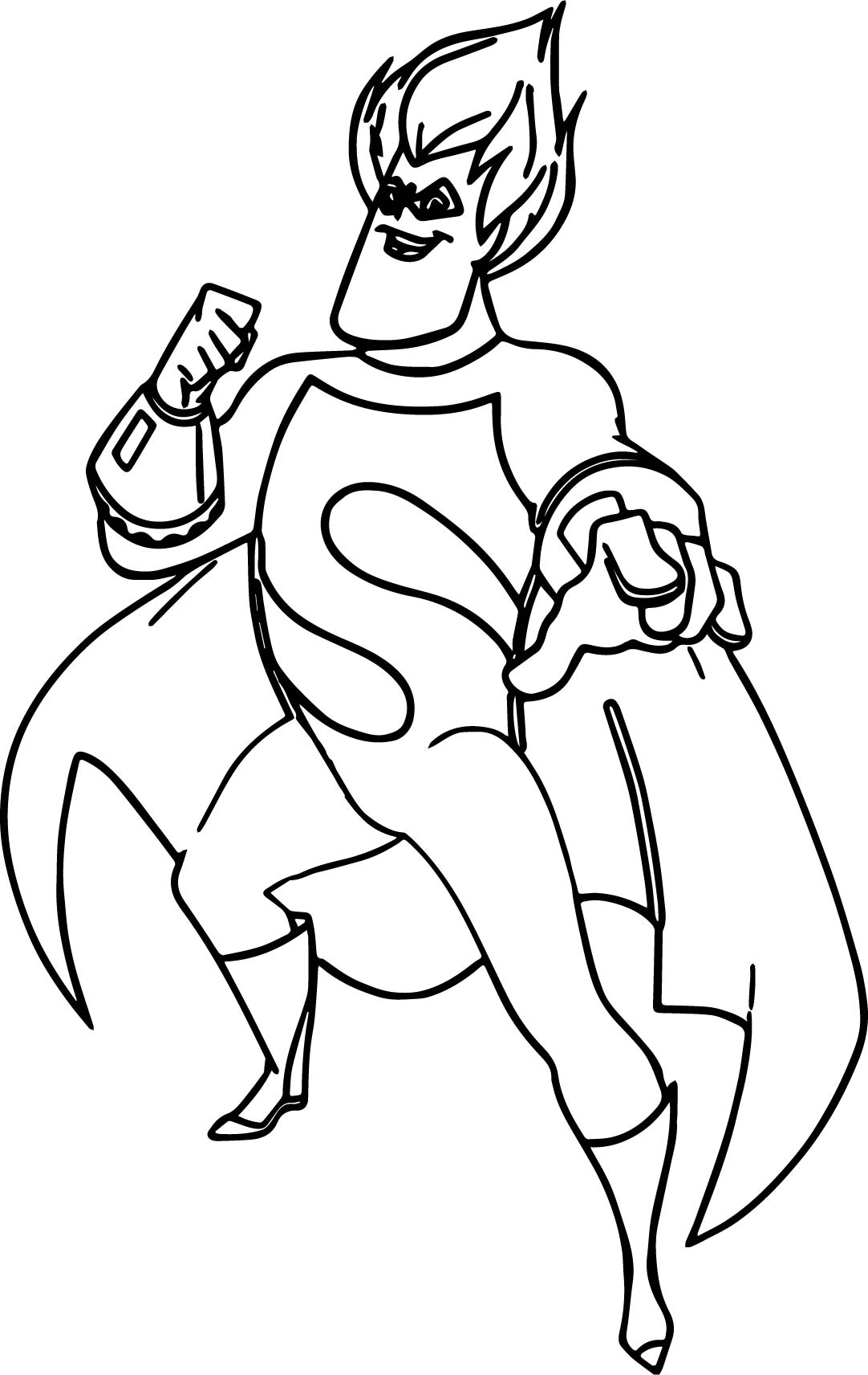 the incredibles s man coloring pages wecoloringpage