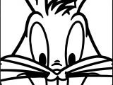 The Looney Tunes Bunny Coloring Page