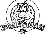 The Looney Tunes Cat Coloring Page