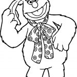 The Muppets Fozzie Coloring Pages