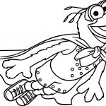 The Muppets Muppets Gonzo Fly Coloring Pages