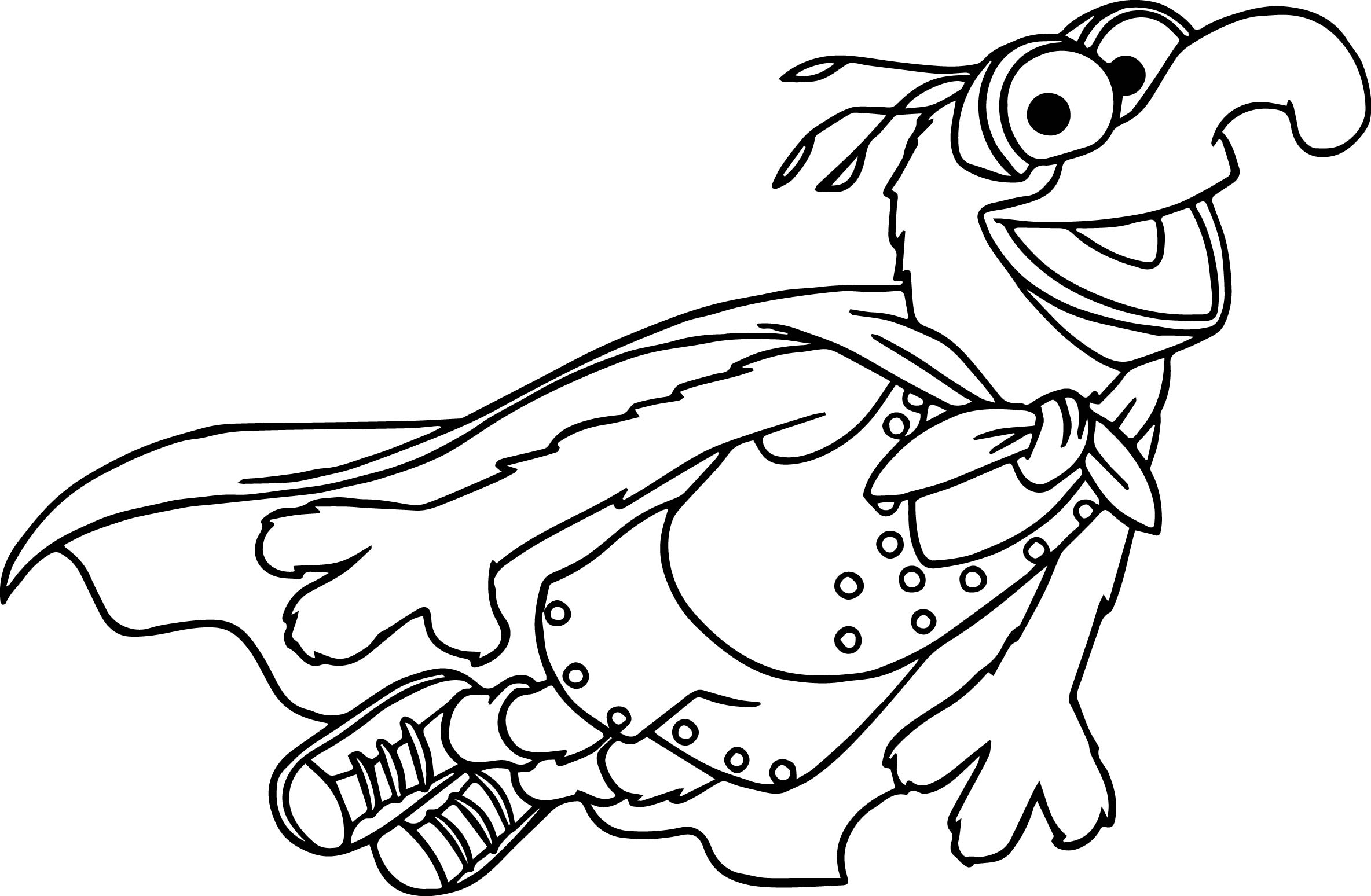 The Muppets Muppets Gonzo Fly Coloring Pages Wecoloringpage Com