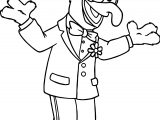 The Muppets Muppets Hands Gonzo Coloring Pages