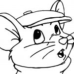 The Rescuers Bernard Coloring Pages