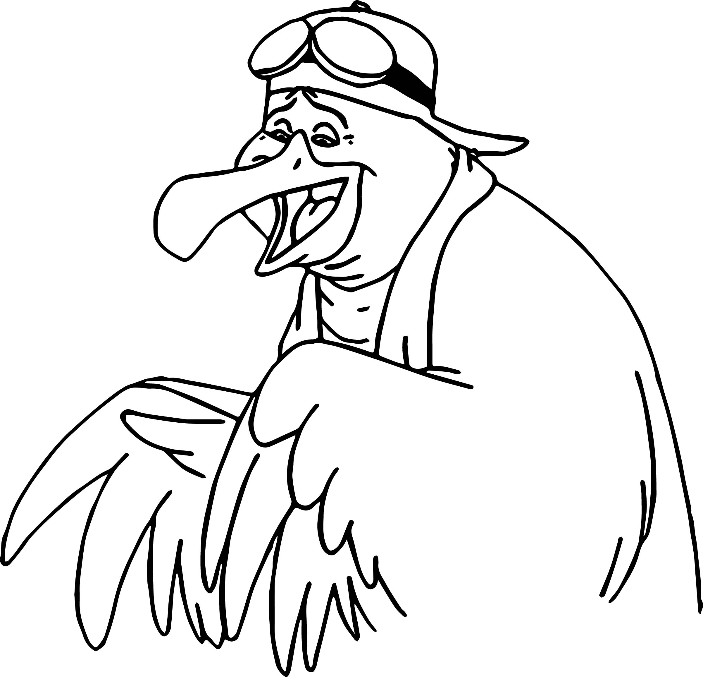 The Rescuers Wilbur Coloring Pages