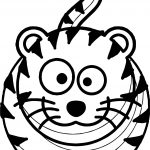Tiger Ready Coloring Page