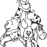 Tigger And Family Coloring Page