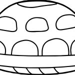 Tortoise Turtle Back Side Coloring Page