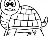 Tortoise Turtle Look Coloring Page