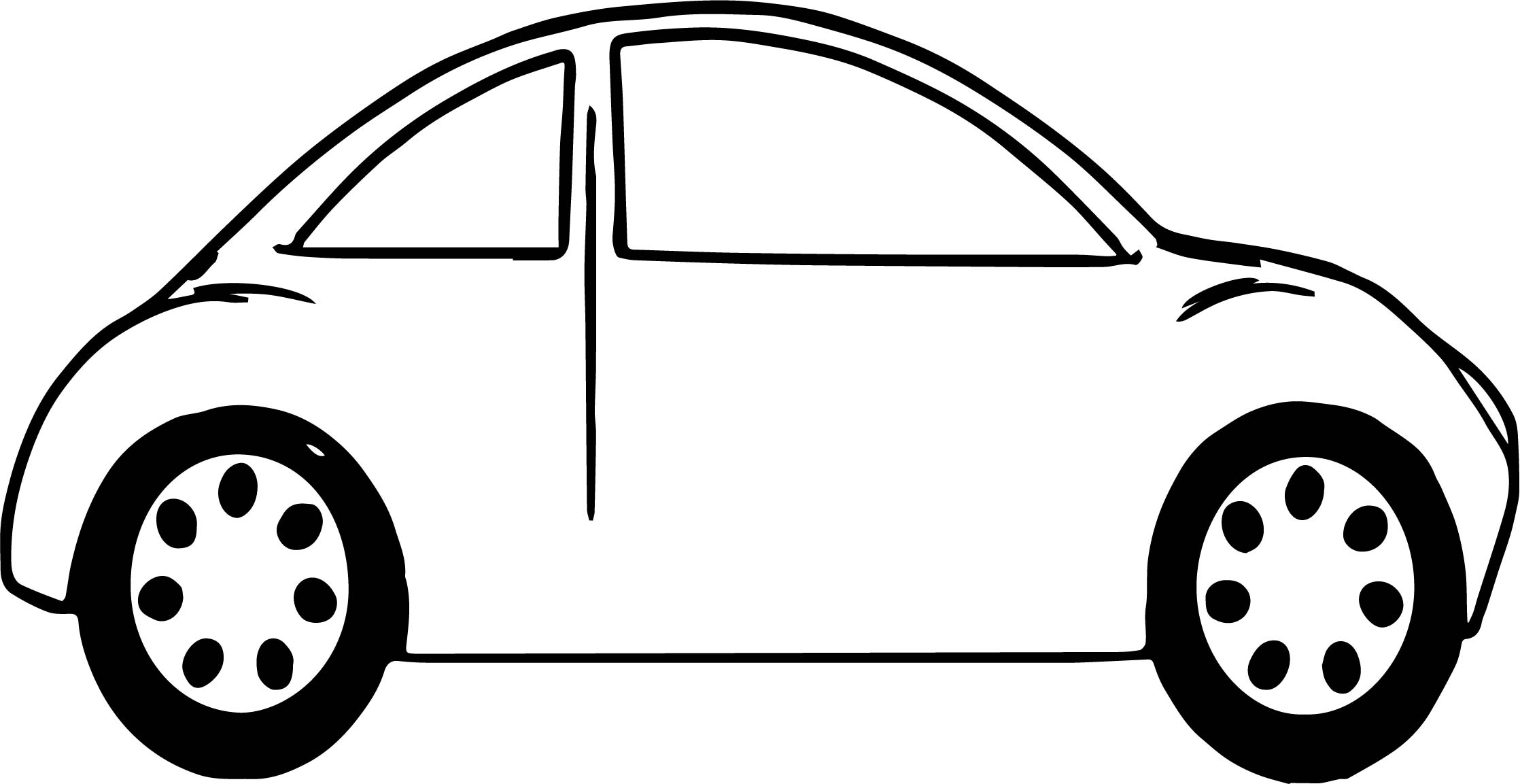 Bug Car Coloring Pages : Volkswagen beetle coloring page car