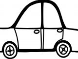 Toy Car Coloring Page