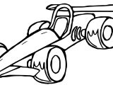 Toy Car Formula Coloring Pages