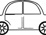 Toy Car Star Tire Coloring Page