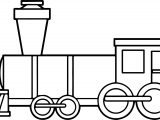 Train Box Coloring Page