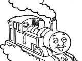 Train Cloud Coloring Pages
