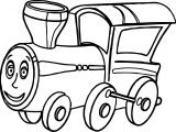 Train Eye Coloring Page