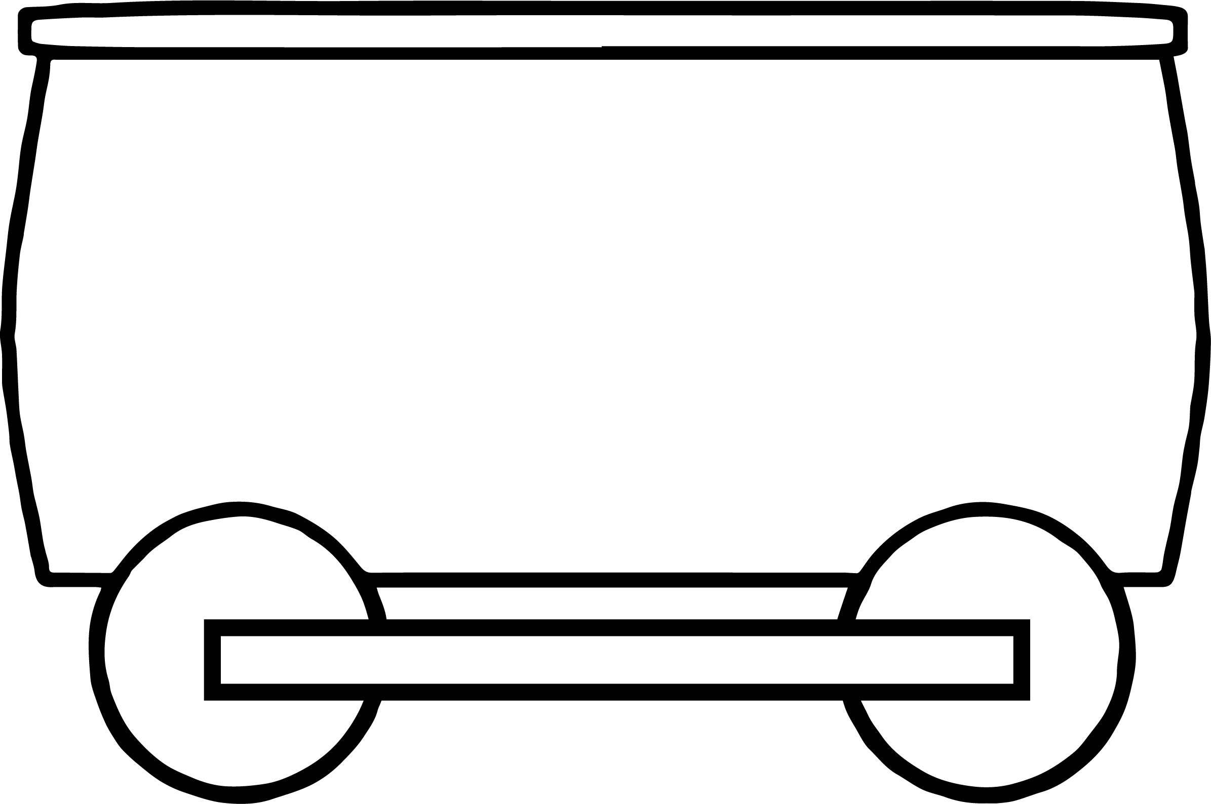 Train Golden Carrying Coloring Page