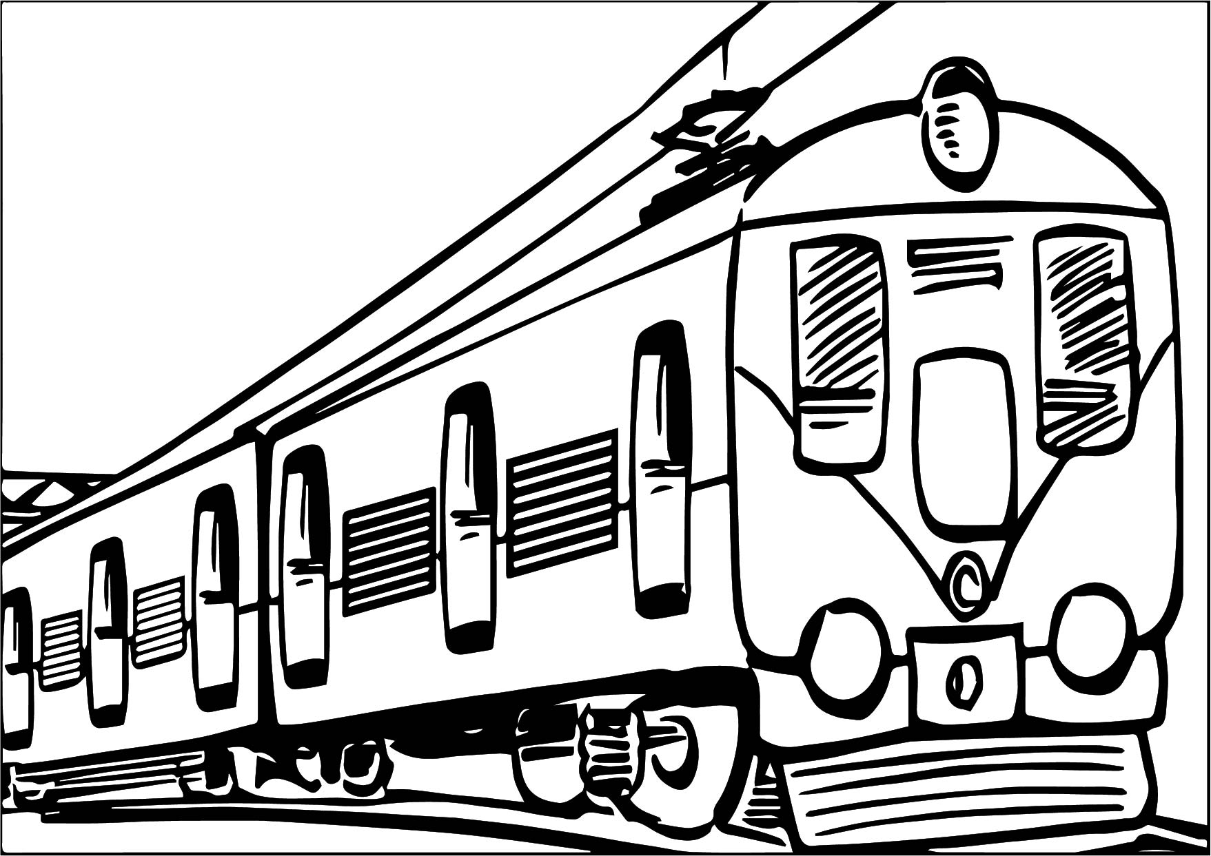transport coloring page wecoloringpage