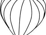 Trilogy Hot Air Balloon Hi Coloring Page