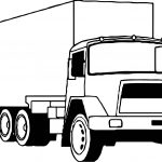 Truck Big Coloring Pages